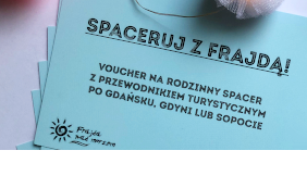 VOUCHER SPACERUJ Z FRAJDĄ